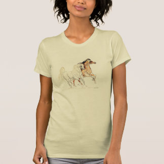 "Arabian Horses TShirt - ""Two Friends Tu"""