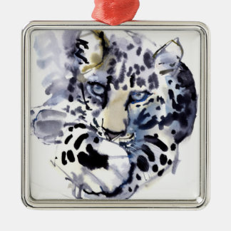 Arabian Leopard 2008  2 Christmas Ornament
