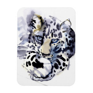 Arabian Leopard 2008  2 Rectangular Photo Magnet