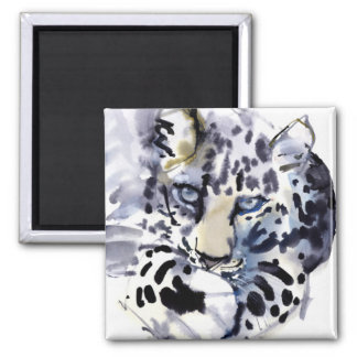 Arabian Leopard 2008  2 Square Magnet