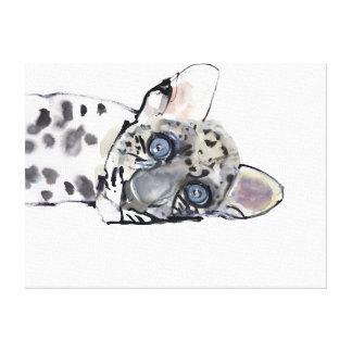 Arabian Leopard 2008  3 Canvas Print