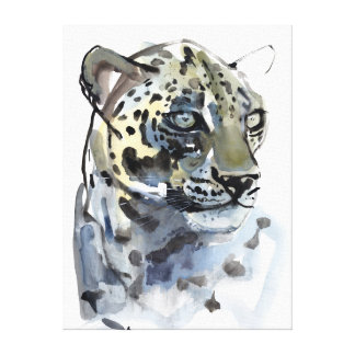 Arabian Leopard 2008  4 Canvas Print