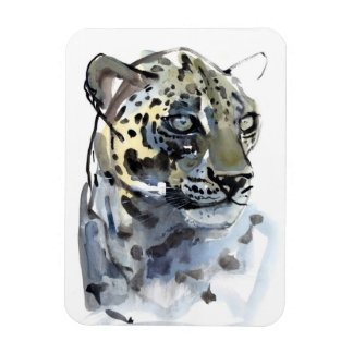 Arabian Leopard 2008  4 Rectangular Photo Magnet