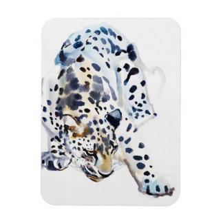 Arabian Leopard 2008  5 Rectangular Photo Magnet