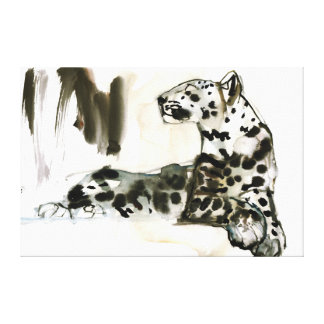 Arabian Leopard 2008 Canvas Print