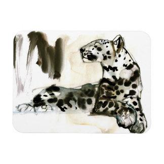 Arabian Leopard 2008 Rectangular Photo Magnet