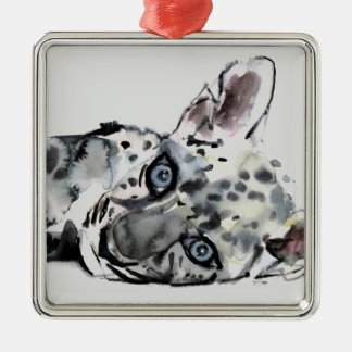 Arabian Leopard Cub 2008 Christmas Ornament