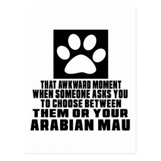 ARABIAN MAU AWKWARD DESIGNS POSTCARD