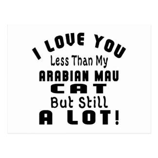 ARABIAN MAU FUNNY DESIGNS POSTCARD