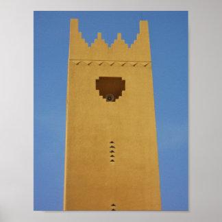 Arabian Minaret Poster