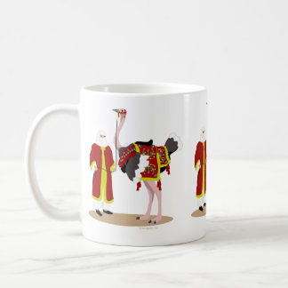 Arabian Native Costume Ostrich Coffee Mug