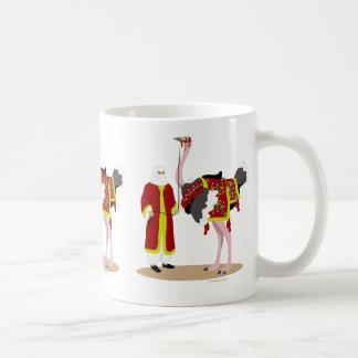 Arabian Native Costume Ostrich Mug