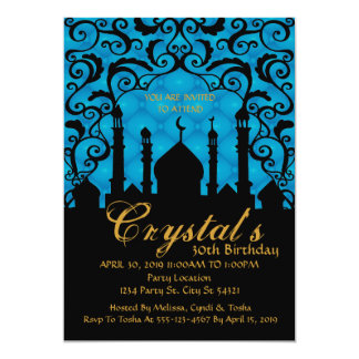 Arabian Nights, 30th Birthday Invitations