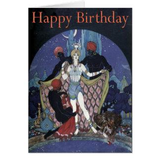 Arabian Nights Birthday Card