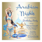Arabian Nights Birthday Party Invitations