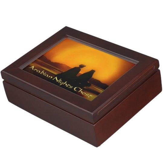 Arabian Nights Chest Memory Box