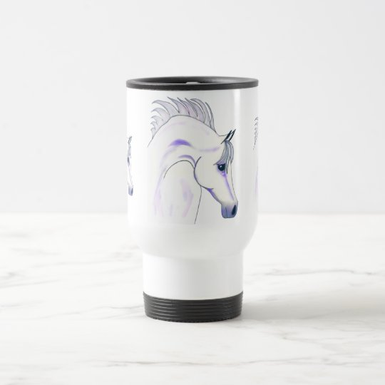 Arabian Nights Equestrian Travel Mug