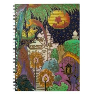Arabian Nights Journal Notebook Diary Sketch Book