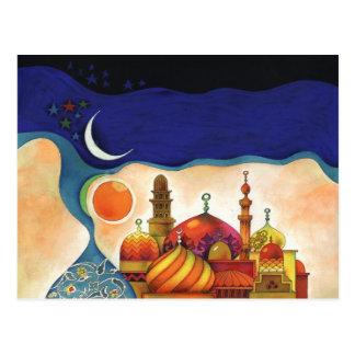 arabian nights postcard