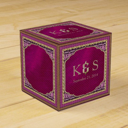 Arabian Nights Wedding ID192 Favour Box