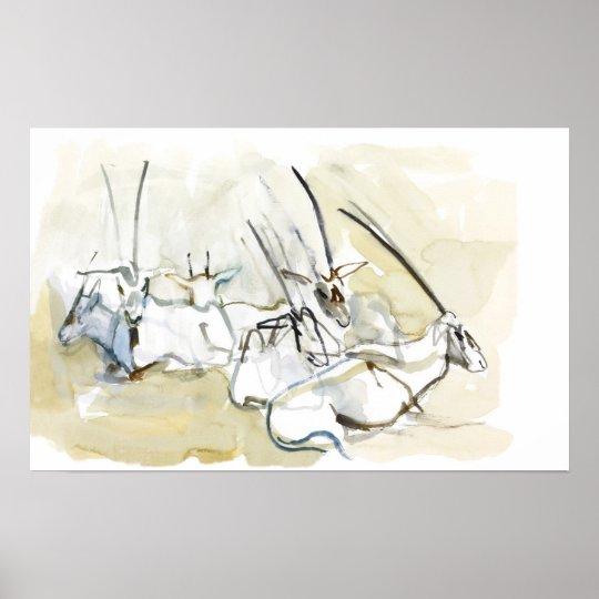 Arabian Oryx 2010  2 Poster