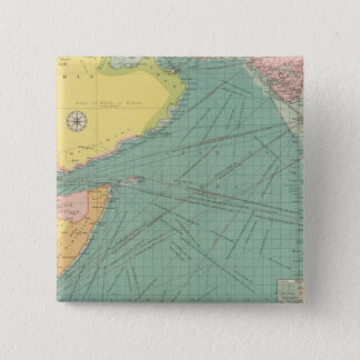 Arabian Sea 15 Cm Square Badge