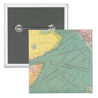 Arabian Sea 15 Cm Square Badge