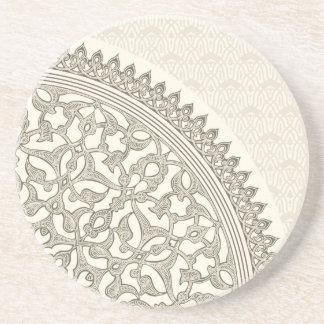 Arabian style lace coaster