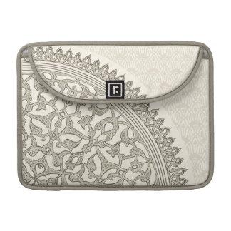 Arabian style lace sleeve for MacBook pro
