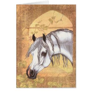 Arabian Window Card