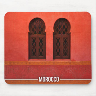 Arabic Architecture Riad, Marrakesh Morocco Mouse Pad