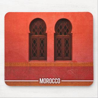 Arabic Architecture Riad, Marrakesh Morocco Mouse Pad