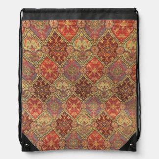 Arabic Carpet Design Backpacks