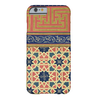 Arabic decorative designs (colour litho) barely there iPhone 6 case
