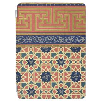 Arabic decorative designs (colour litho) iPad air cover
