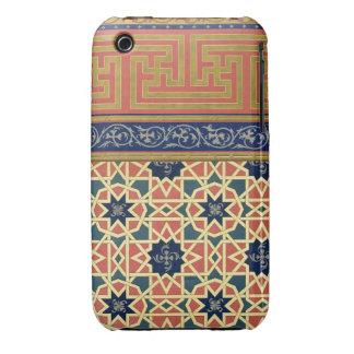 Arabic decorative designs (colour litho) iPhone 3 case