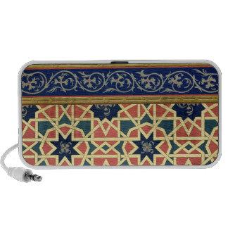 Arabic decorative designs (colour litho) notebook speaker