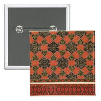 Arabic decorative designs, from 'Arab Art as Seen Pinback Buttons