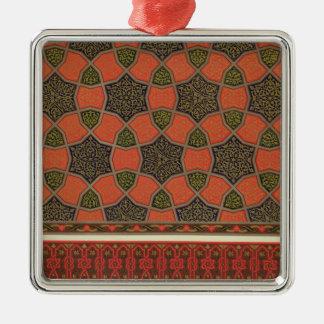 Arabic decorative designs, from 'Arab Art as Seen Christmas Ornament