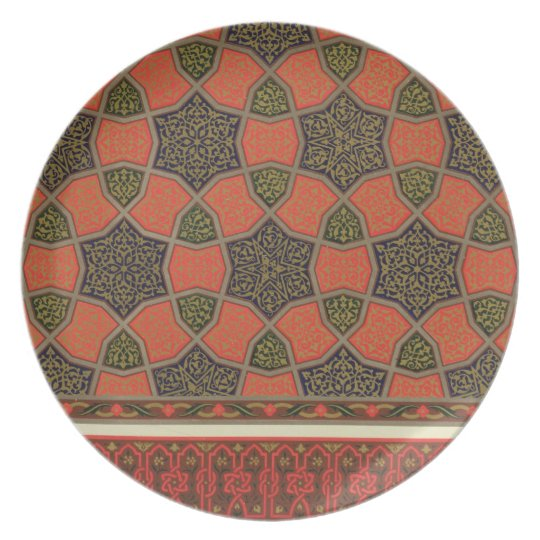 Arabic decorative designs, from 'Arab Art as Seen Plate