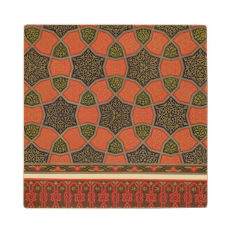 Arabic decorative designs, from 'Arab Art as Seen Wood Coaster