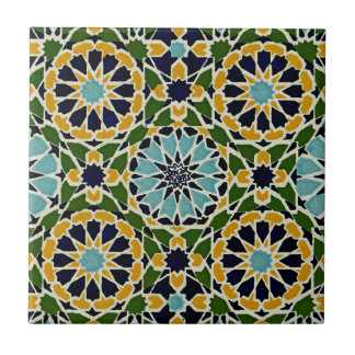 Arabic Design #10 at Emporio Moffa Small Square Tile