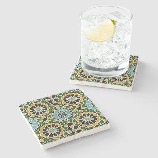Arabic Design #10 at Emporio Moffa Stone Beverage Coaster