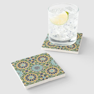 Arabic Design #10 at Emporio Moffa Stone Coaster