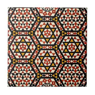 Arabic Design #12 at Emporio Moffa Small Square Tile