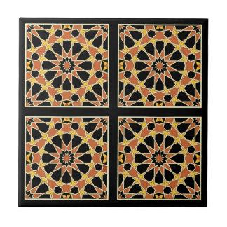 Arabic Design #3 at Emporio Moffa Small Square Tile