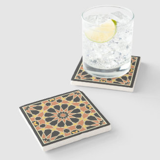 Arabic Design #3 at Emporio Moffa Stone Coaster