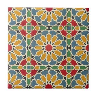 Arabic Design #7 at Emporio Moffa Small Square Tile