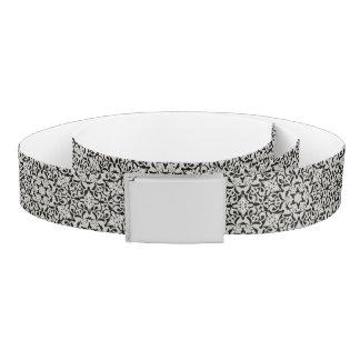 Arabic floral pattern belt