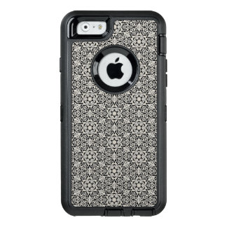 Arabic floral pattern OtterBox defender iPhone case